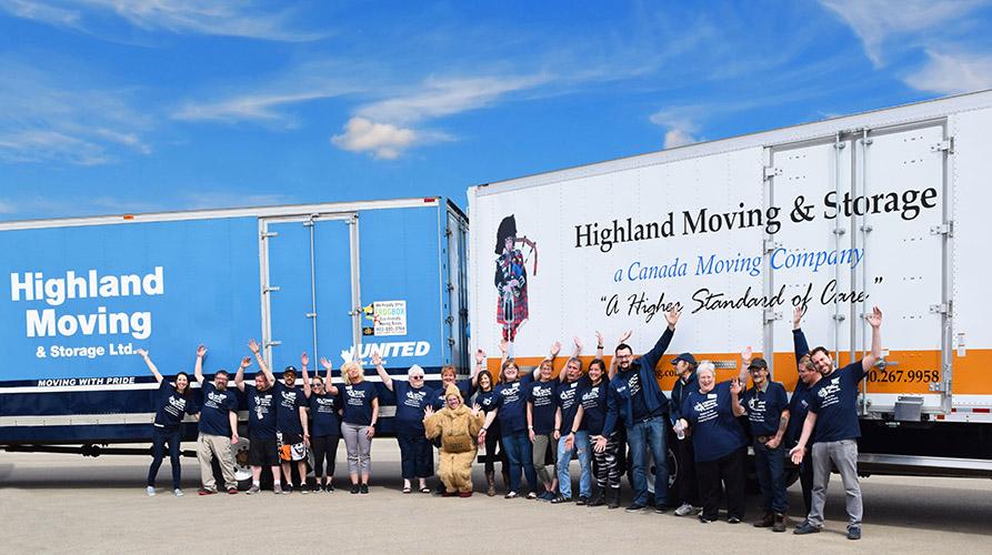 Community Involvement - Highland Moving & Storage