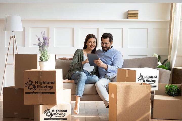 movers, moving company, Highland Moving & Storage Ltd.